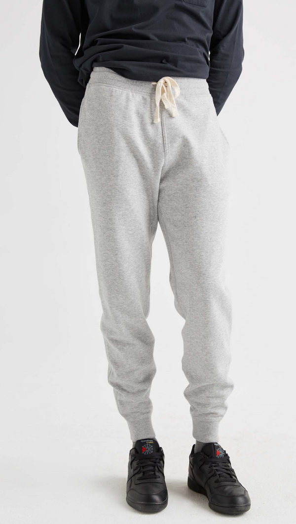 Richer Poorer Men's Heather Grey Fleece Sweatpant
