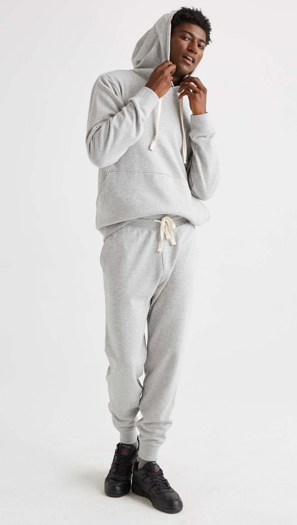 Men's Fleece Sweatpant - Light Heather Grey