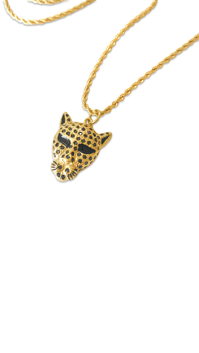 Panther Necklace - Gold Fill