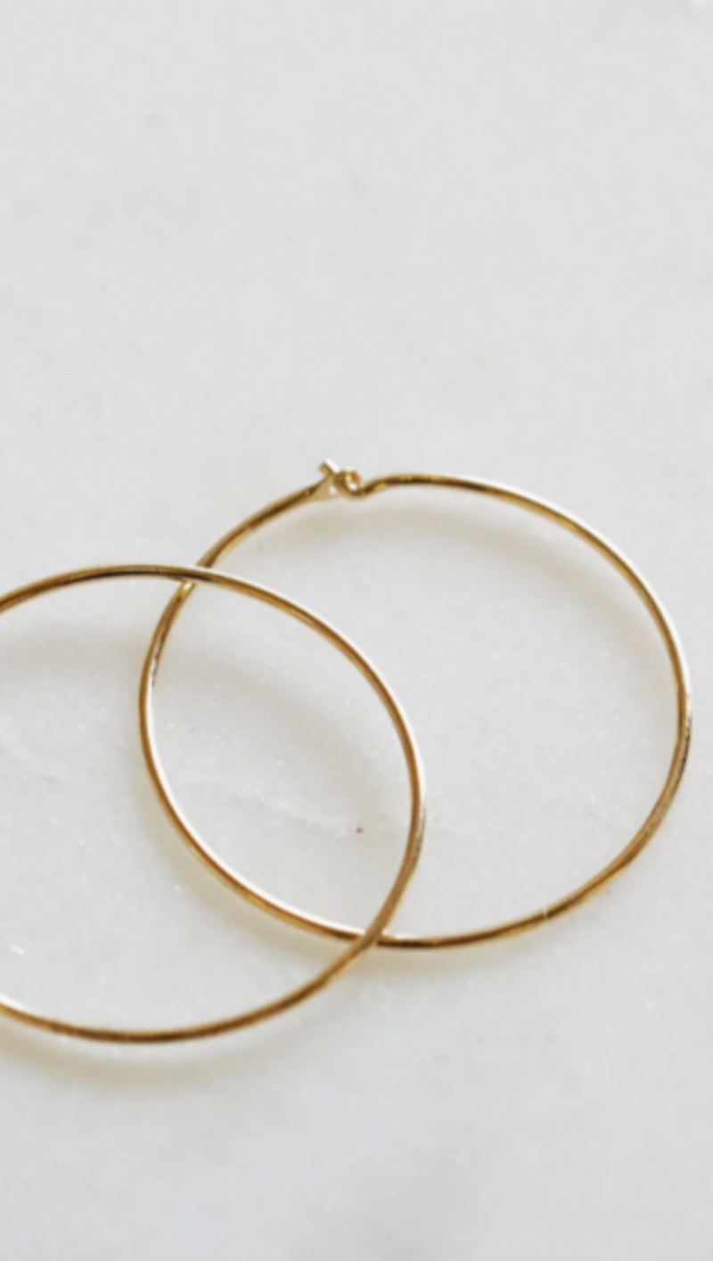 LA Hoops Large - Pair