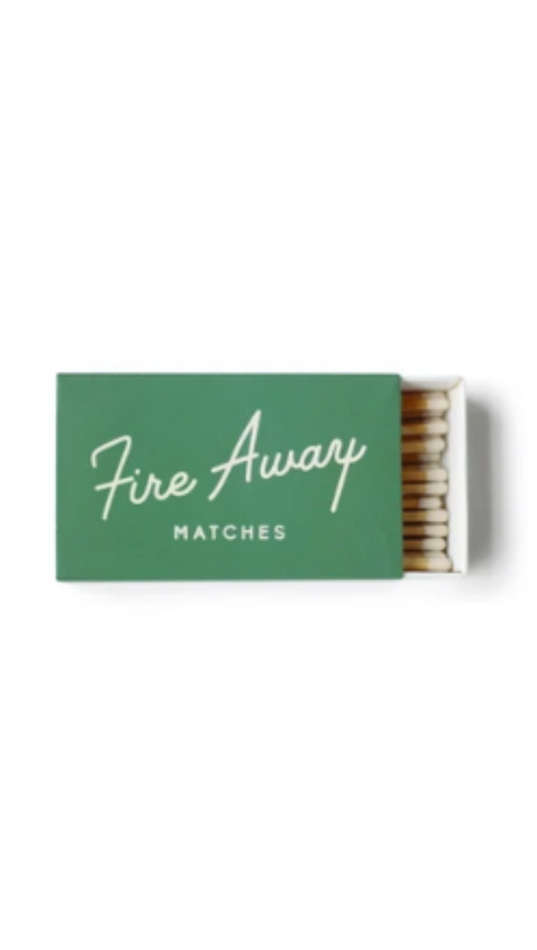 Safety Matches - Green Box/Fire Away