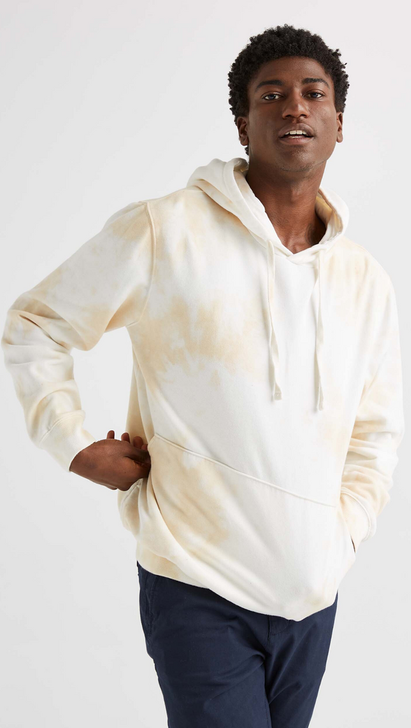 Men's Fleece Pullover Hoodie - Cloud Wash