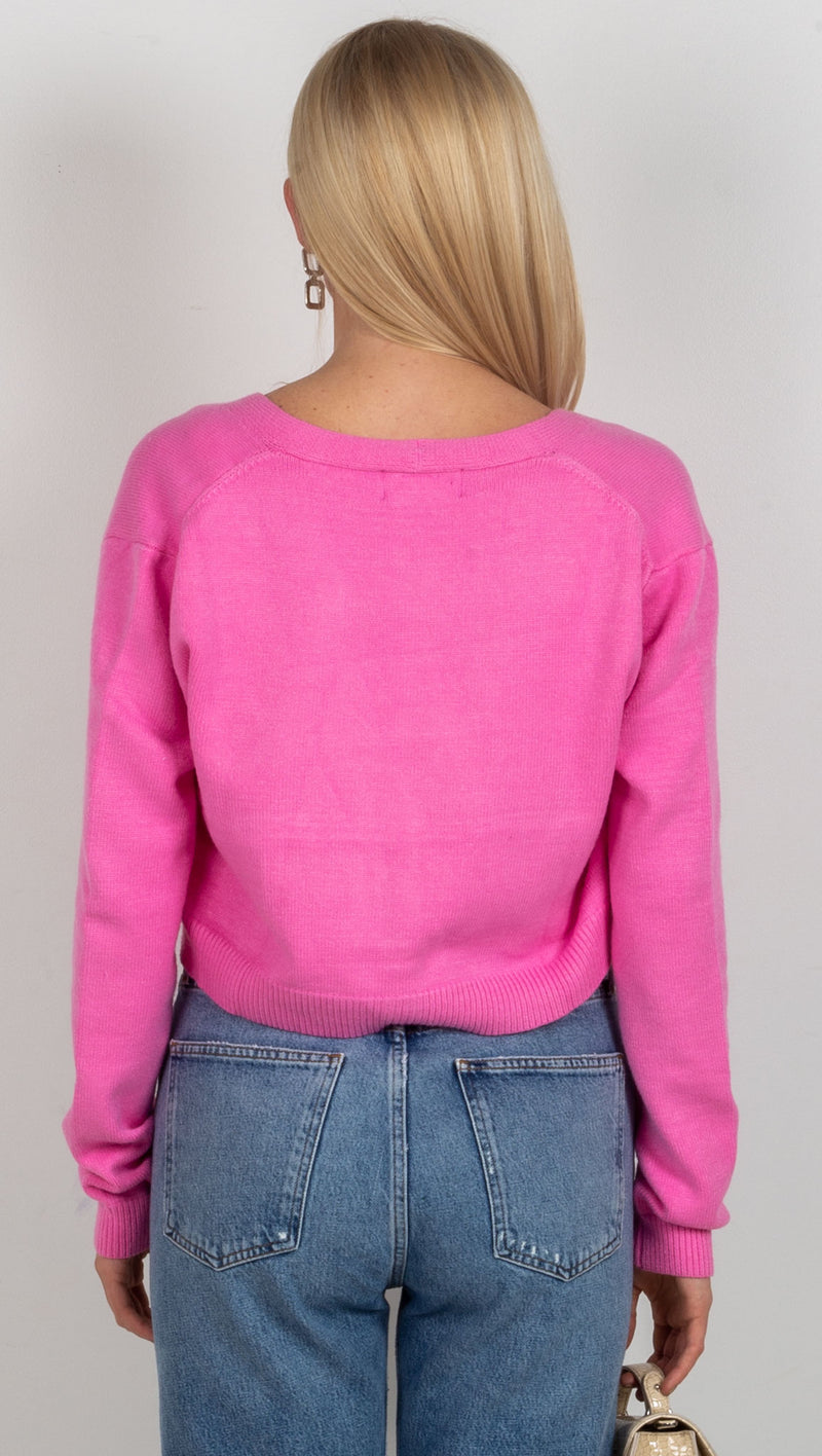Callie Sweater Set - Bubblegum