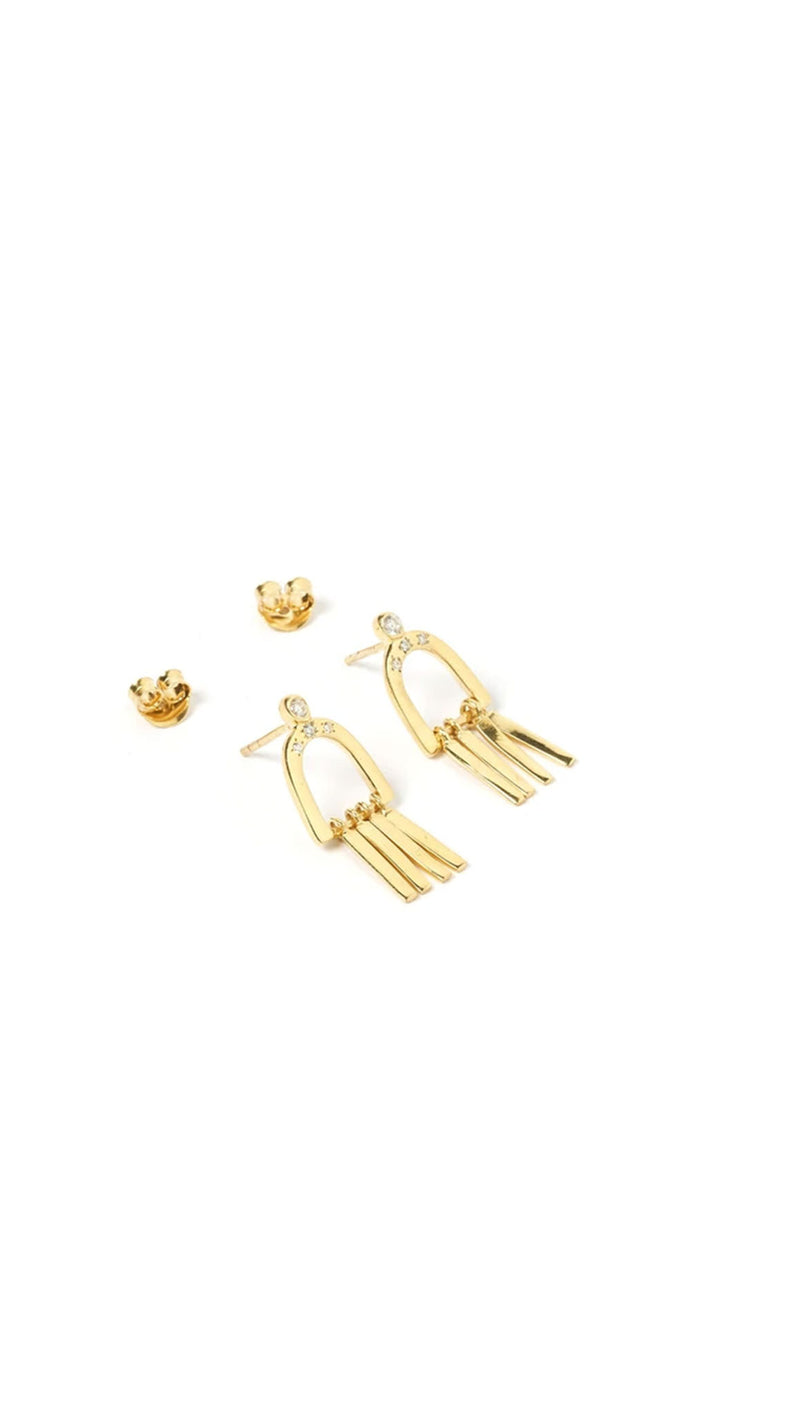 Dami Earrings - Gold