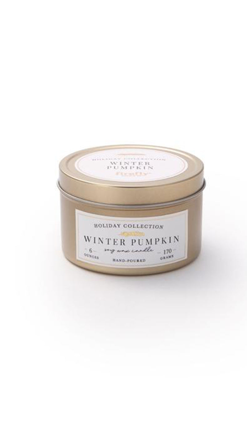 Classic Christmas 6 oz Candle - Winter Pumpkin