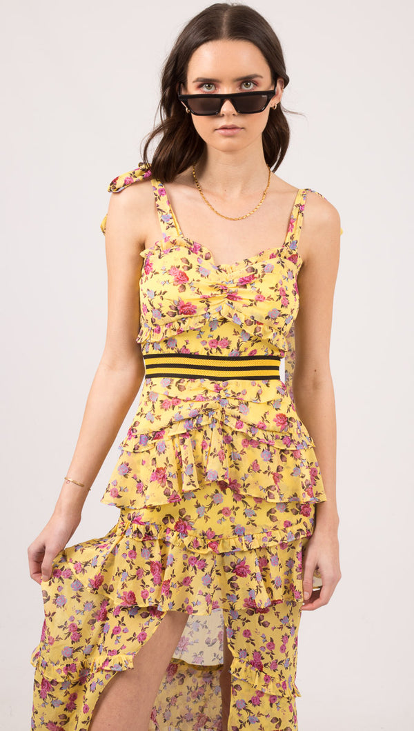 Maison Maxi Dress - Yellow