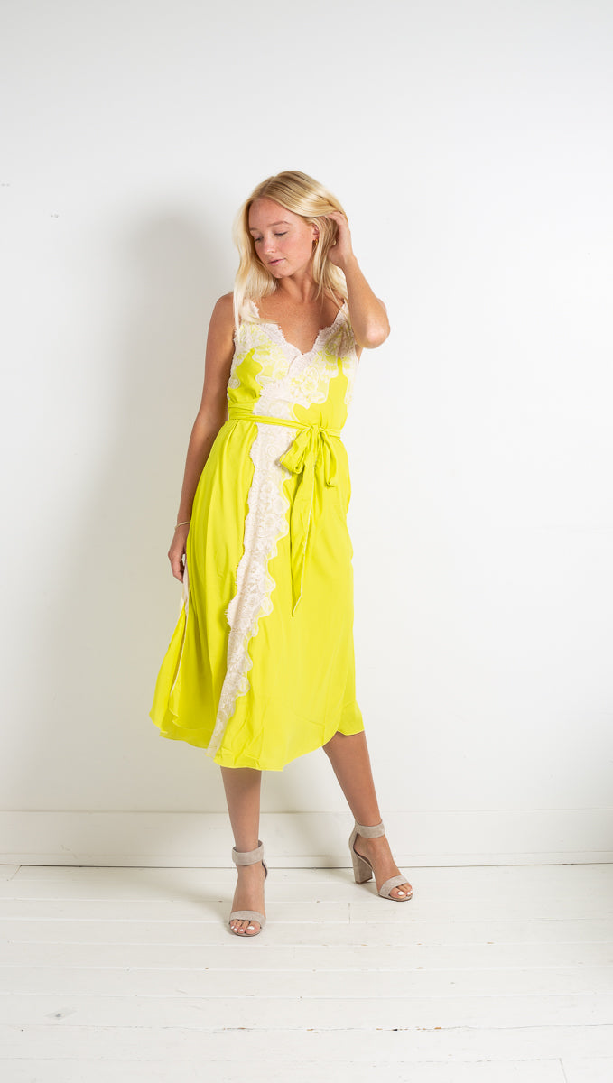 Dancing Queen Dress - Lime Lite