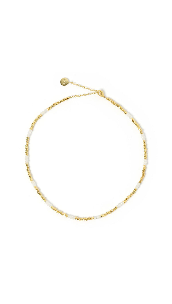 Iggy Necklace - Gold and Moonstone