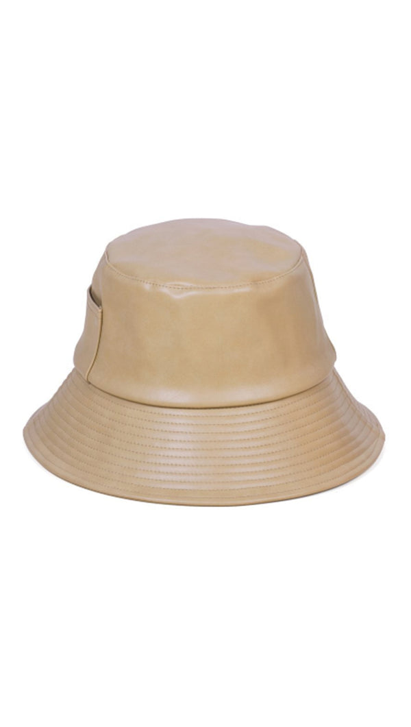 Wave Bucket Hat - Camel