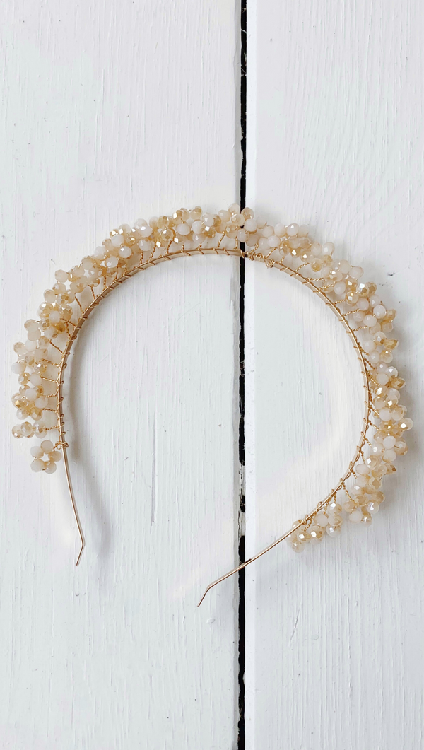 Layla Headband - Gold