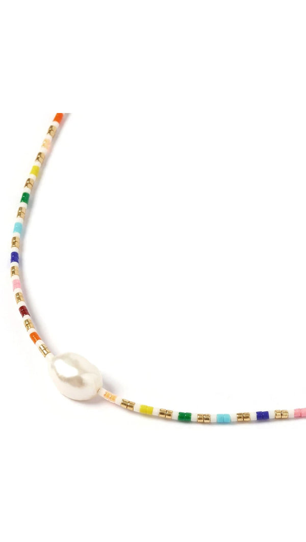 Marley Choker - Gold and Pearl