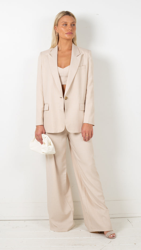 Ria 3 Piece Suit - Oatmeal