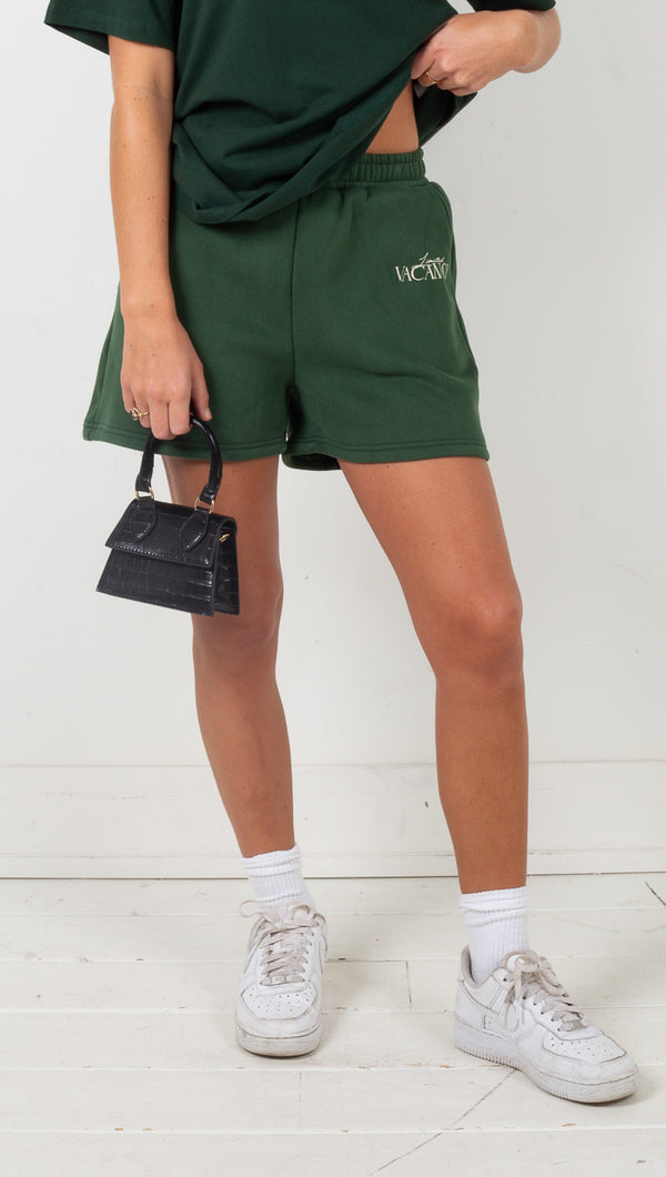 The Club Short - Forest Green
