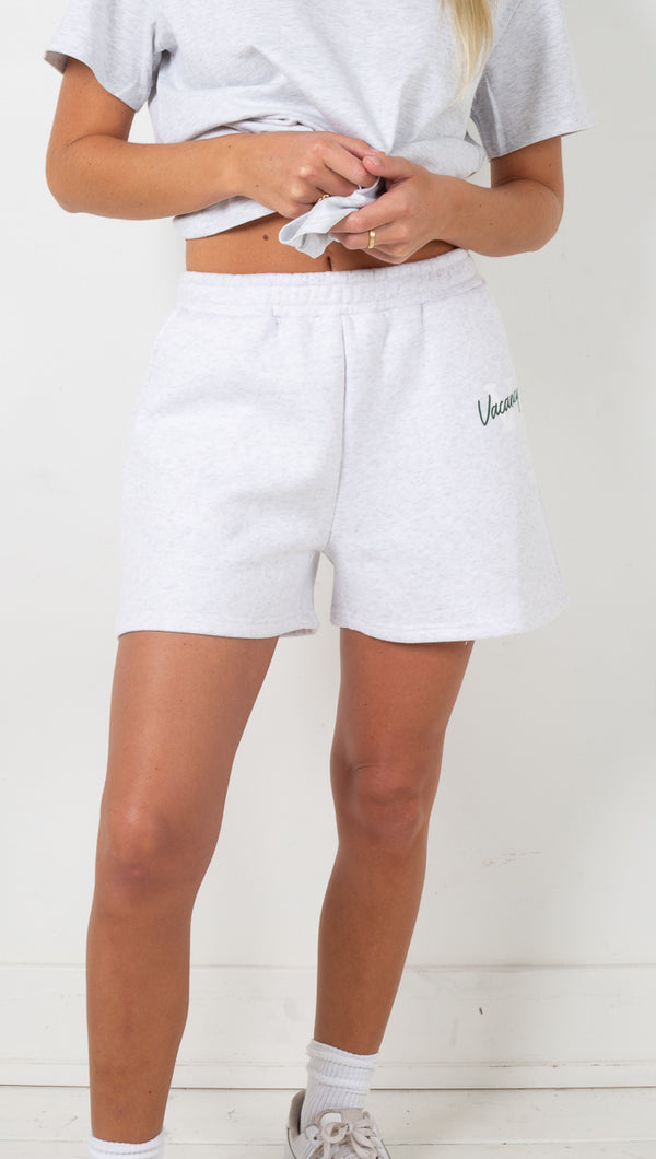 Campus Lounge Short - Grey Marle