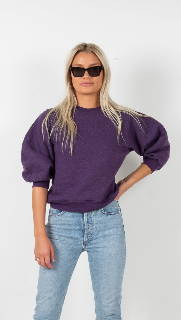 Thora Sweatshirt - Grape Heather