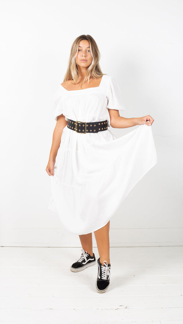 Bryn Maxi Dress - White