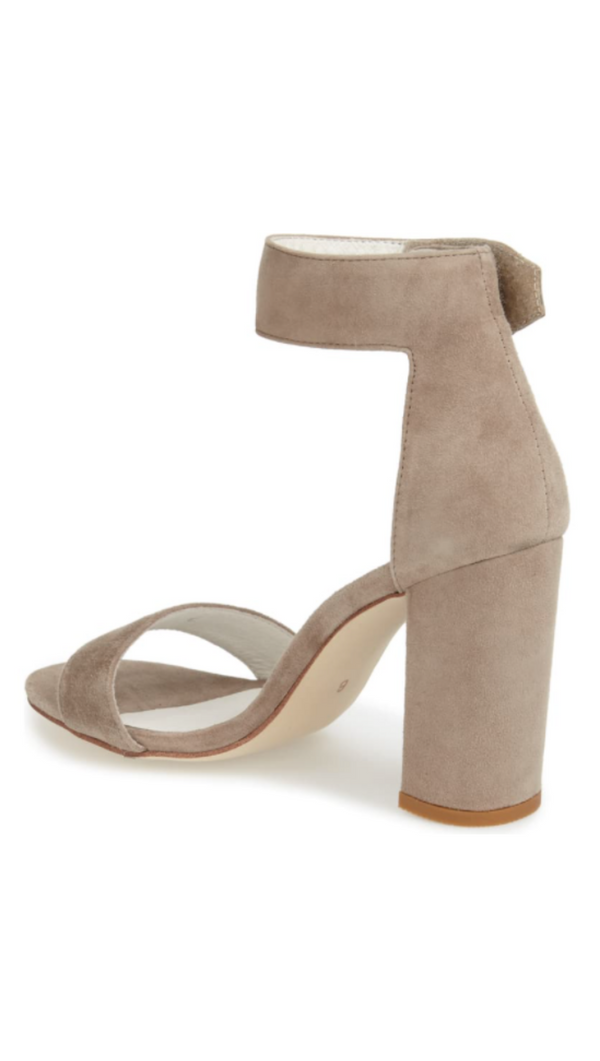 Lindsay - Taupe Suede