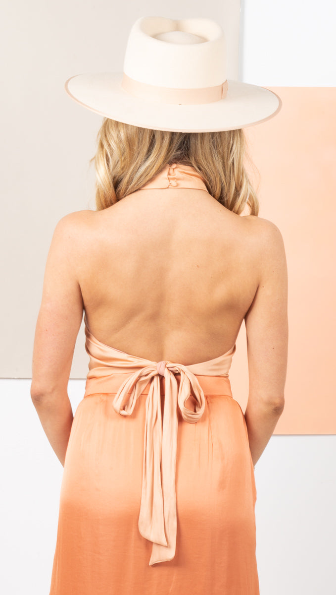 Lucca Halter - Apricot