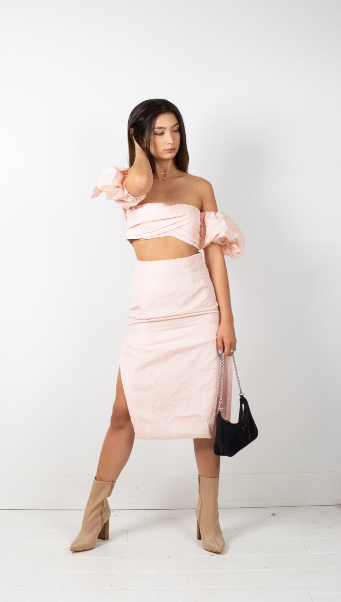 Sharah Skirt - Blush