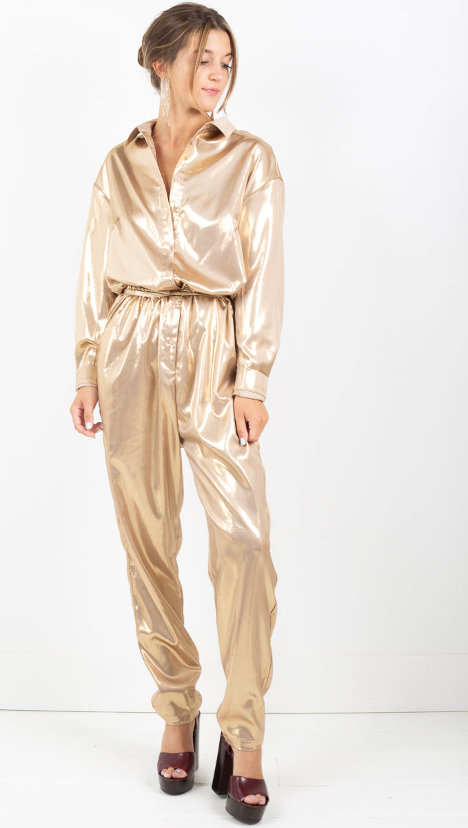 Jumpsuit - Gold