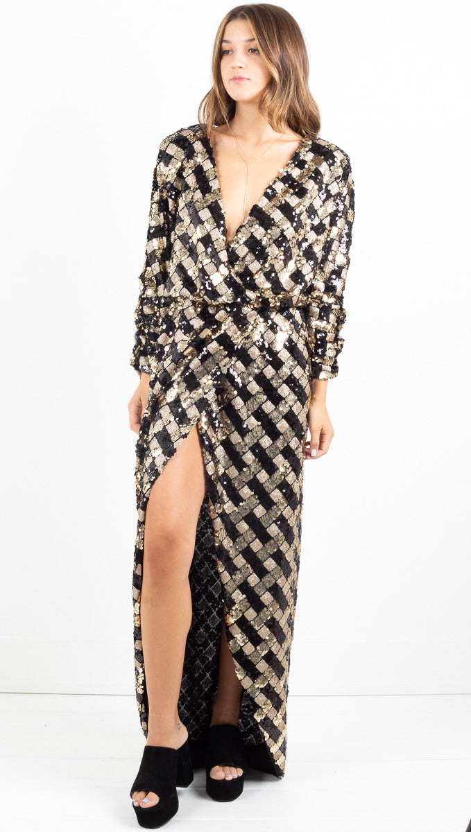 Maxi Gown - Sequin