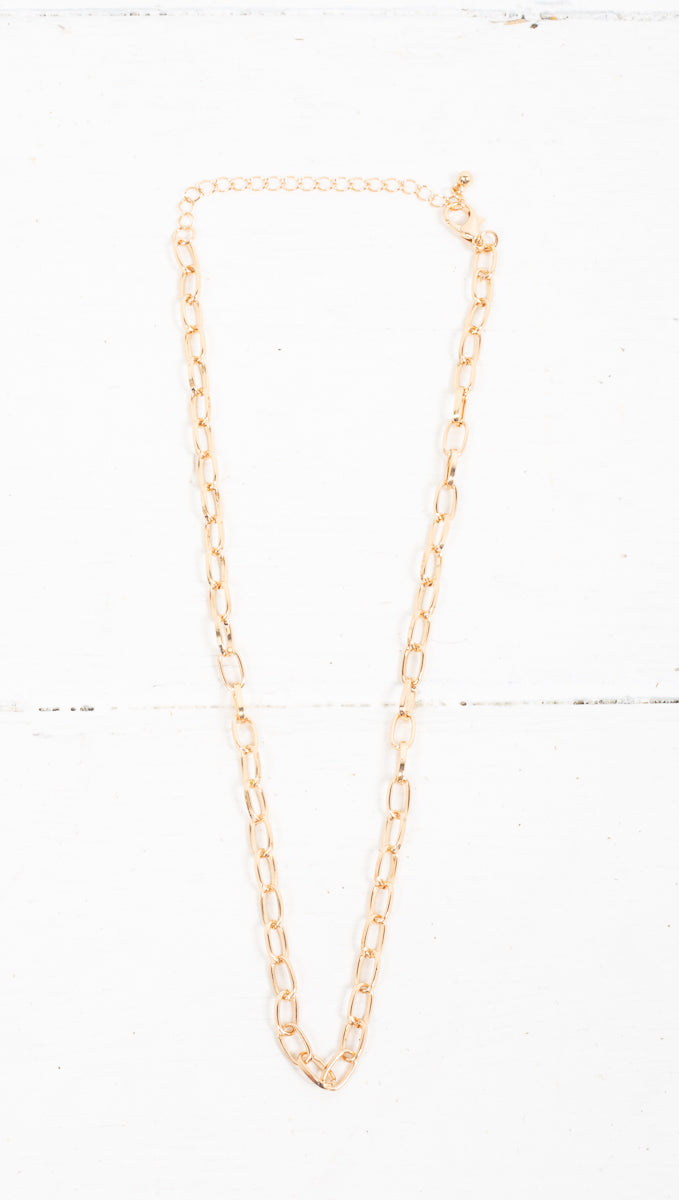 Chainlink Necklace - Gold