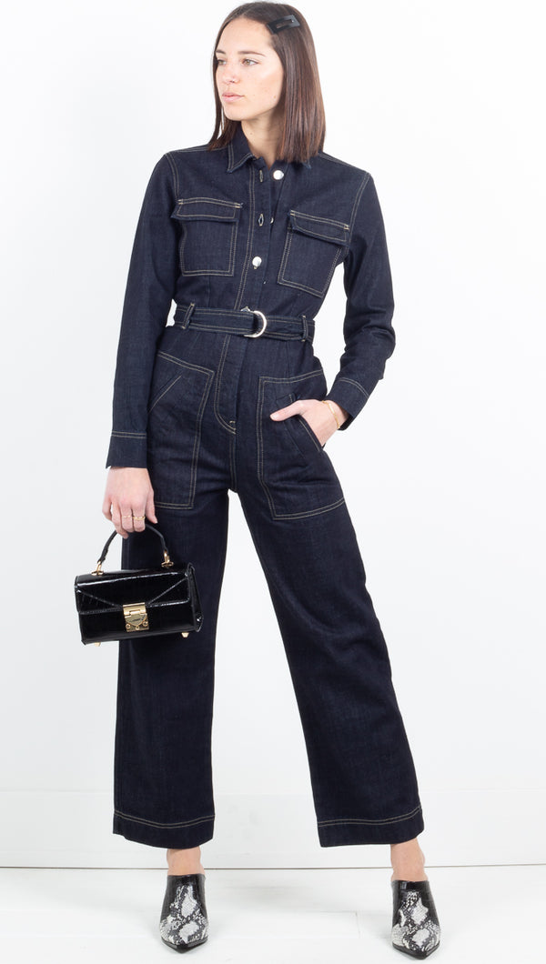 Birkin Jumpsuit - Dark Blue