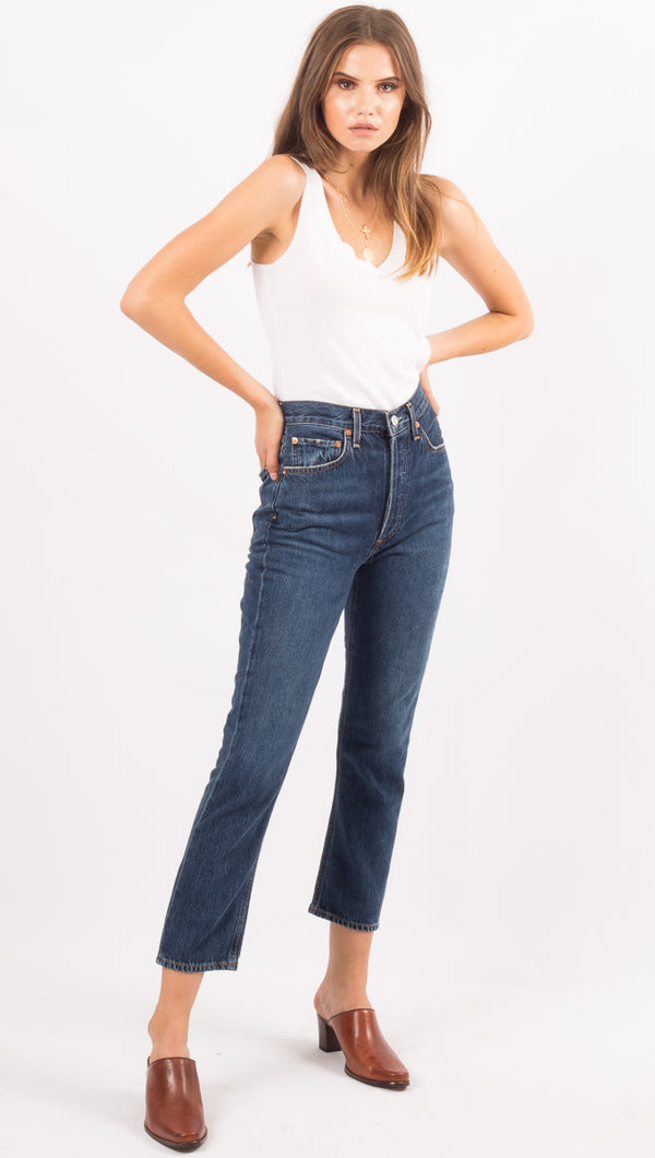 Agolde High Waist Denim Jeans