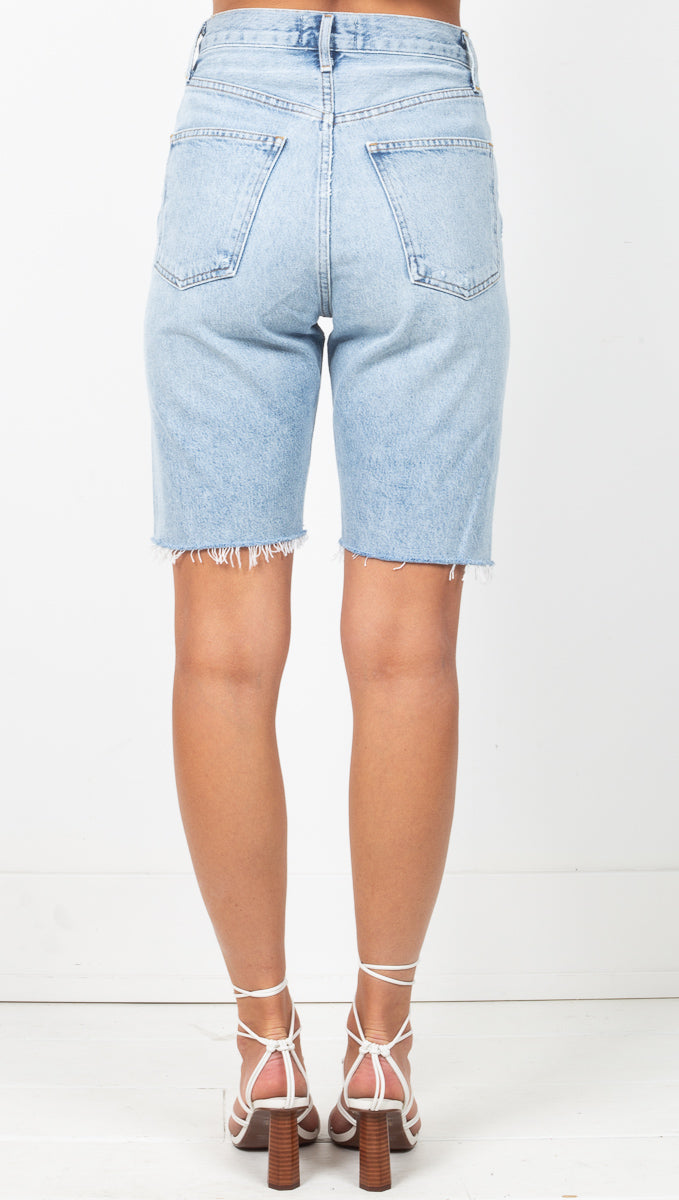 90's Mid Rise Loose Fit Short - Riptide
