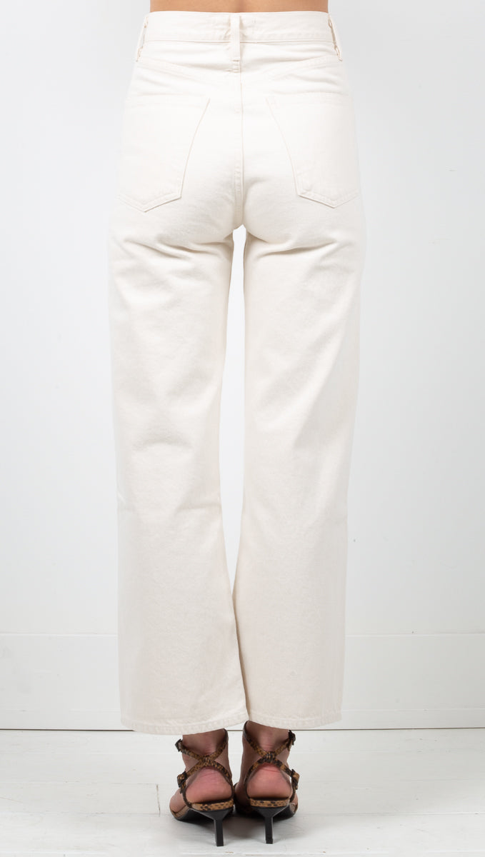 Ren High Rise Wide Leg - Paper