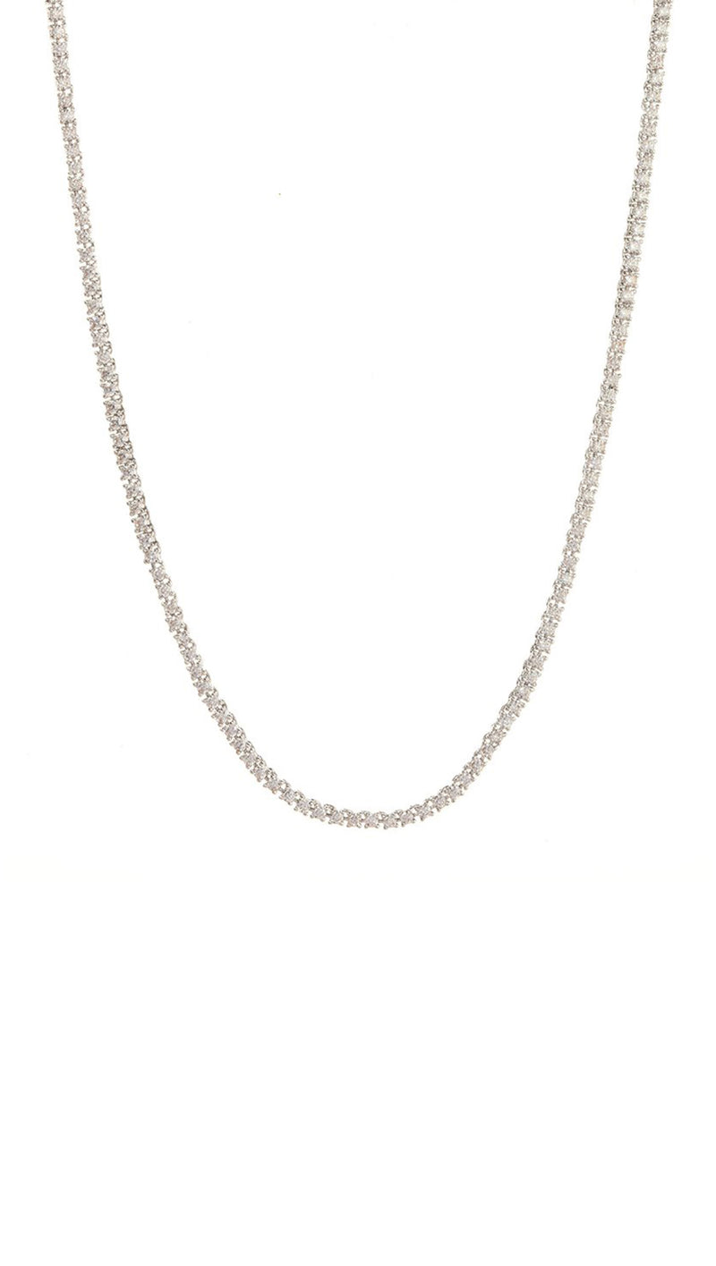 Mini Ballier Necklace - Silver