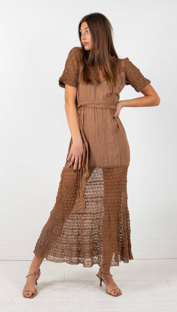 Goldie Dress - Khaki