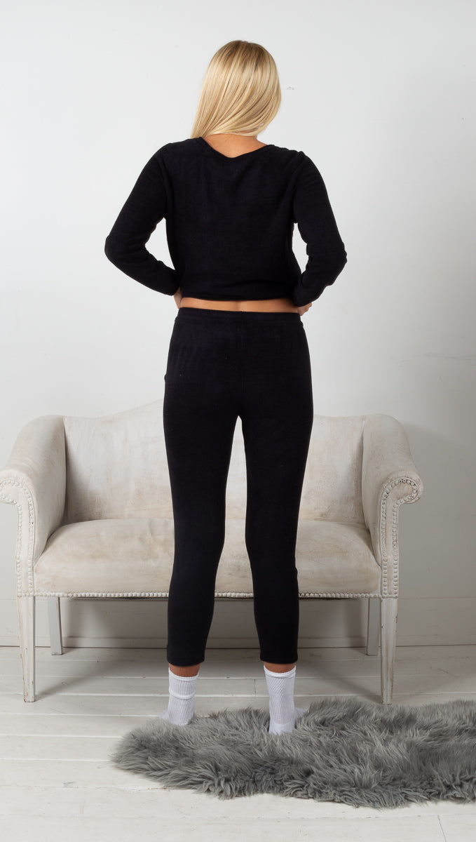 CozyChic Ultra Lite Everyday Pants - Black