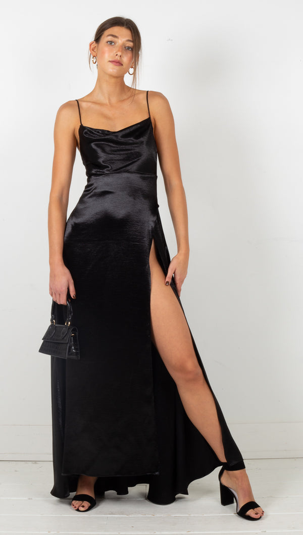 Aleah Maxi Dress - Black