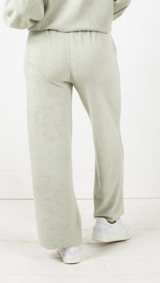 Kick Slicker Knit Pant - Palm Green