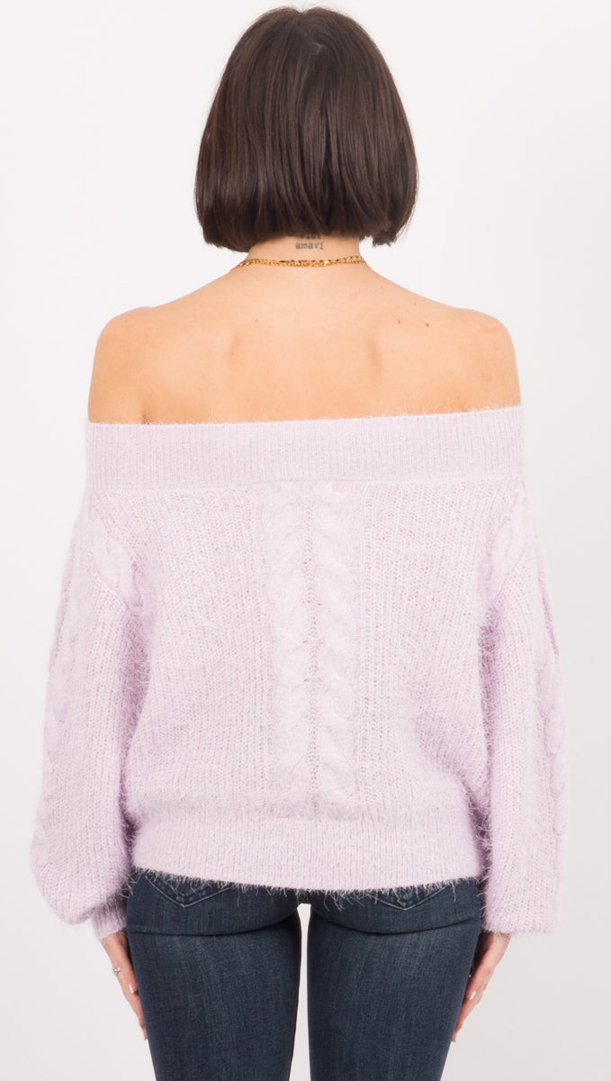 Miraflores Sweater - Lilac