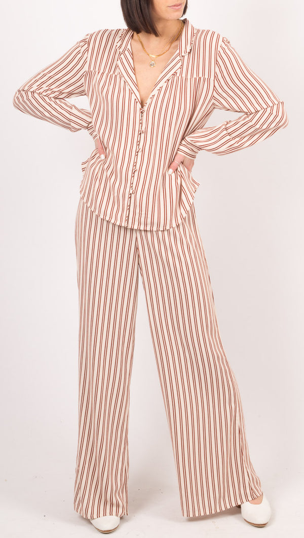 Amuse Society Pink Stripe Pants