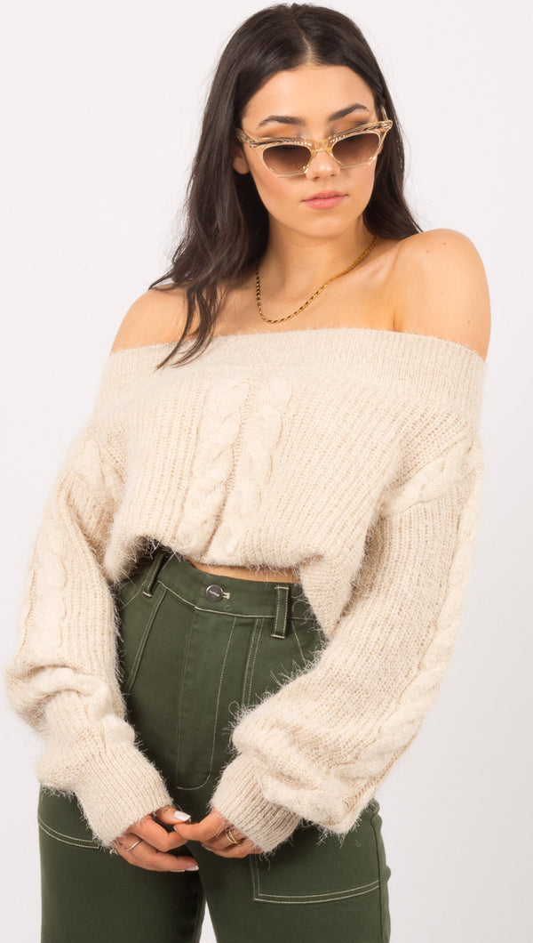 Miraflores Sweater - Oatmeal