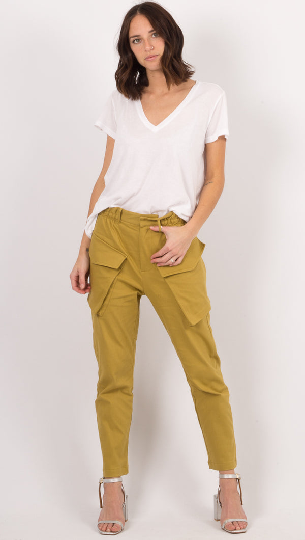 Atoir Gold Cargo Pants