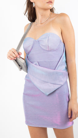 Mean To Me Dress - Lilac