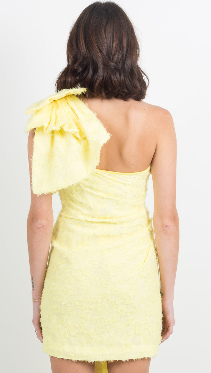Guiding Light Dress - Lemon
