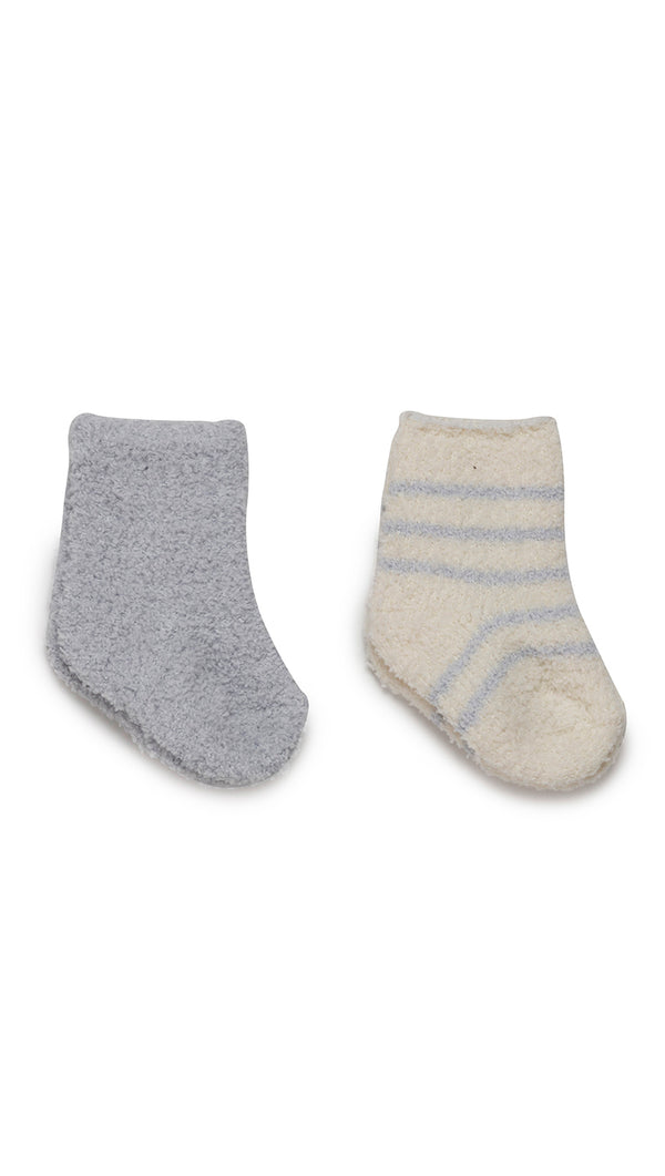 CozyChic 2 Pair Infant Sock Set - Blue