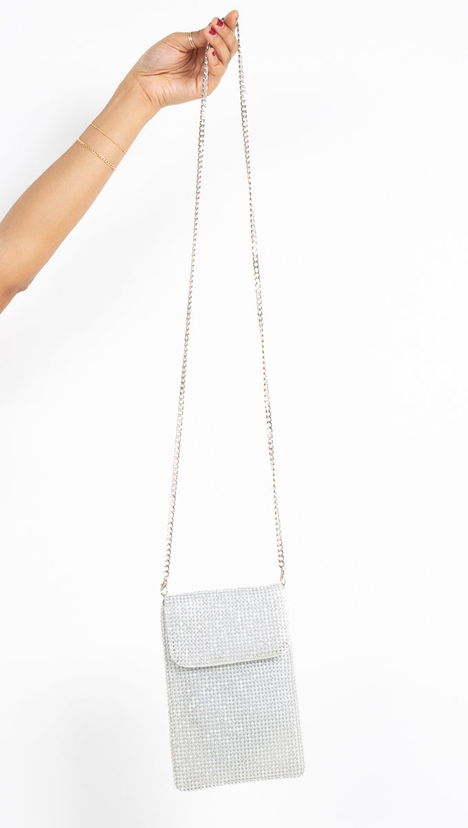 Disco Crossbody - Silver