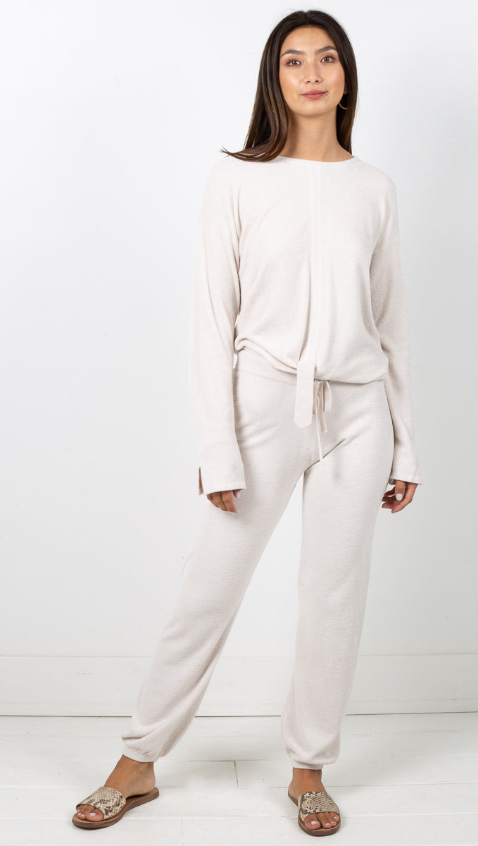Cozychic Ultra Lite Track Pant - Sand Dune