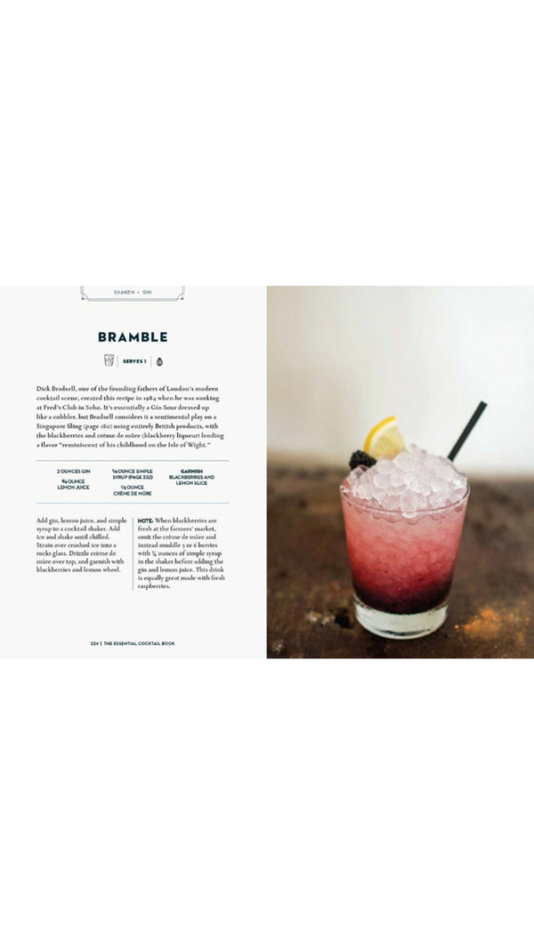 Essential Cocktail Book