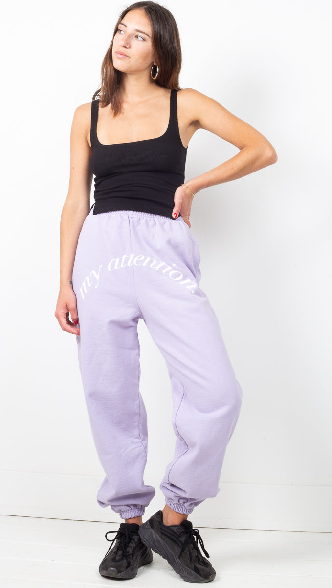 My Attention Sea Fog Sweatpants - Blue