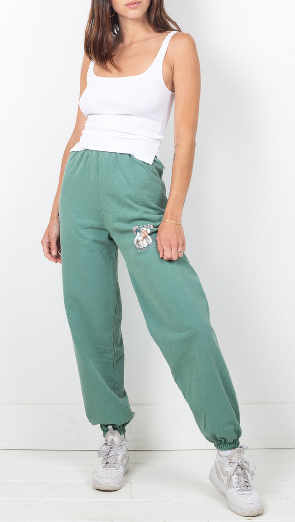 Goodbye Sweatpants - Light Green