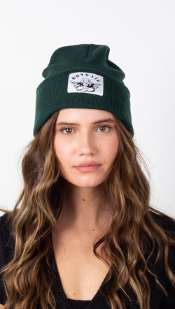 Boys Lie Beanie - Forest