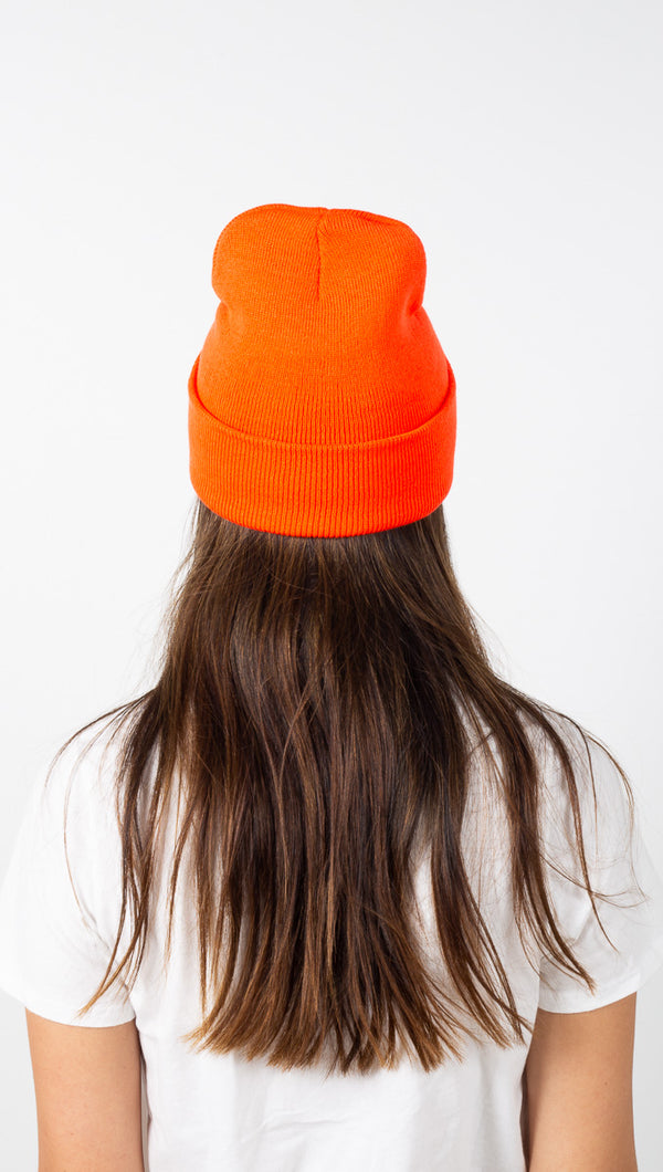 Boys Lie Beanie - Orange