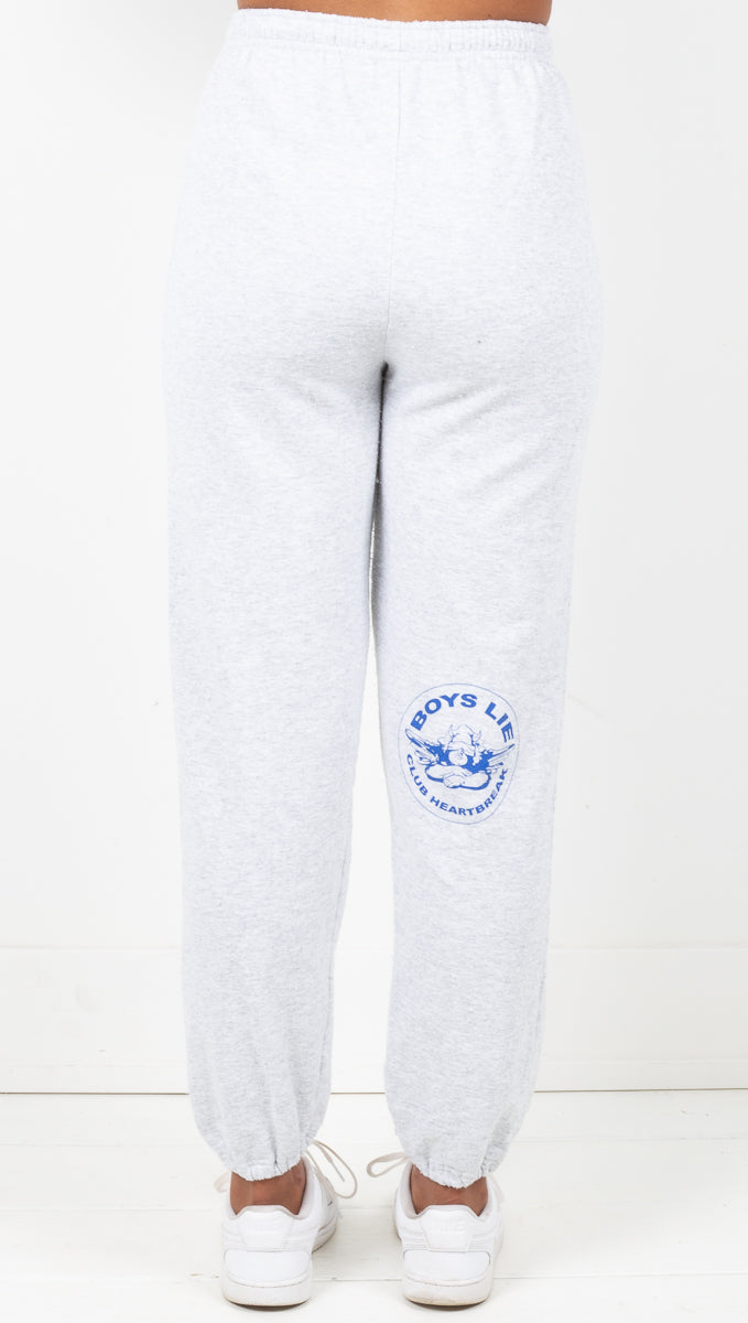 Heart Break Club Sweatpants - Grey
